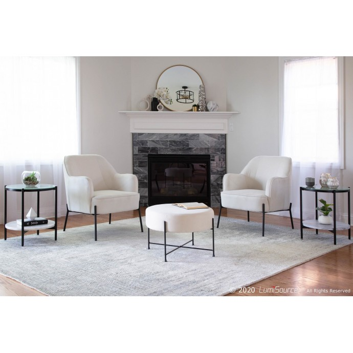 Height Adjustable Contemporary Bar Stool Venti