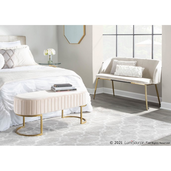 Adjustable Mid-century Modern Bar Stool in Walnut and Brown Vittorio