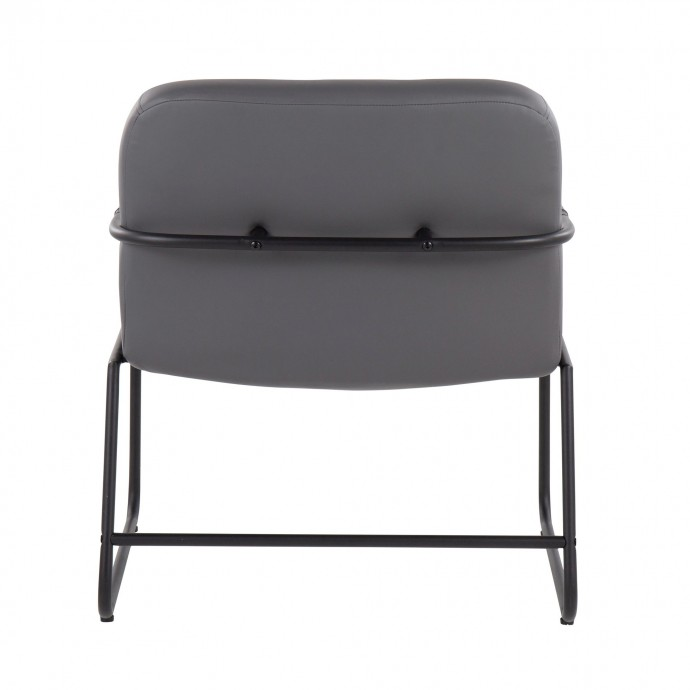Height Adjustable Contemporary Bar Table in White Elia LumiSource - 1