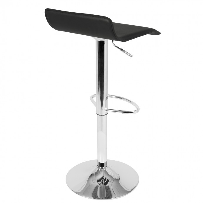 Solid wood and metal square side table Civic Center