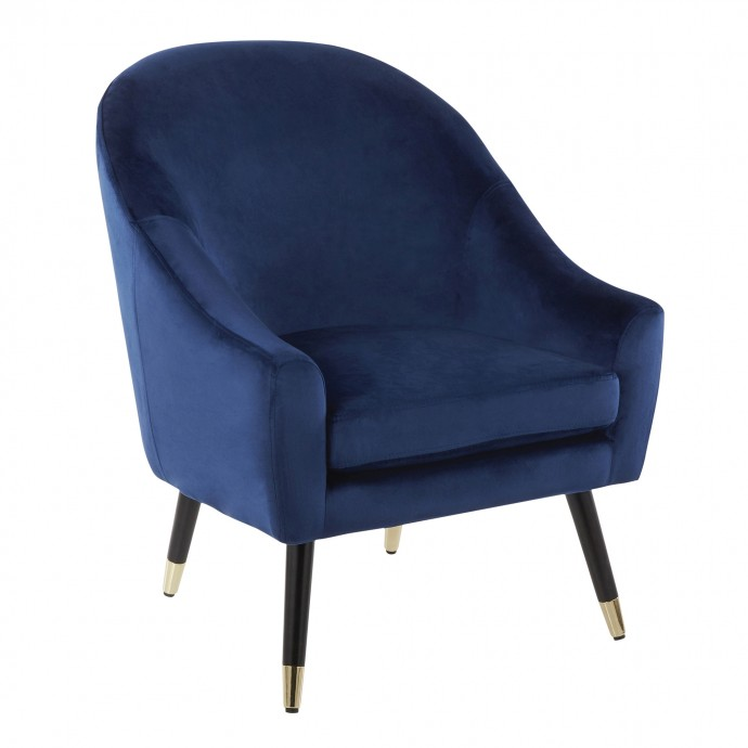 Industrial Bar Stool in Antique and Camel PU Leather Beta