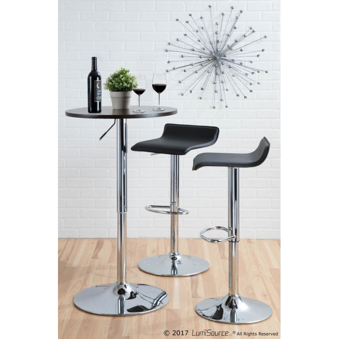 Solid wood and metal nesting tables Civic Center