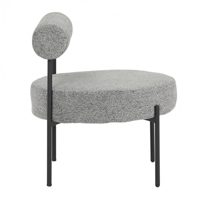Contemporary White Adjustable Bar Stool Caviar