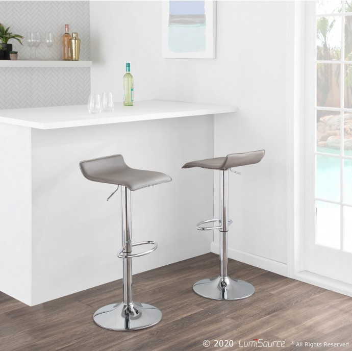 Modern Rectangular Bent Glass Coffee Table Migration