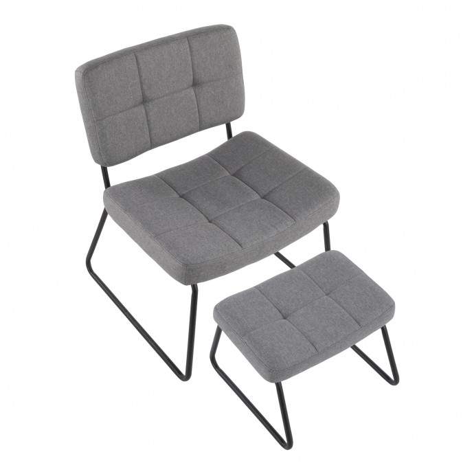 Mid-century Modern Adjustable Bar Stool in Walnut and Teal Curvo