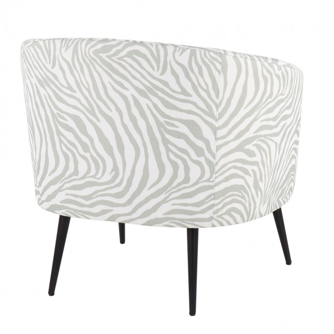 Industrial Bar Stool in Antique and Brown Dakota
