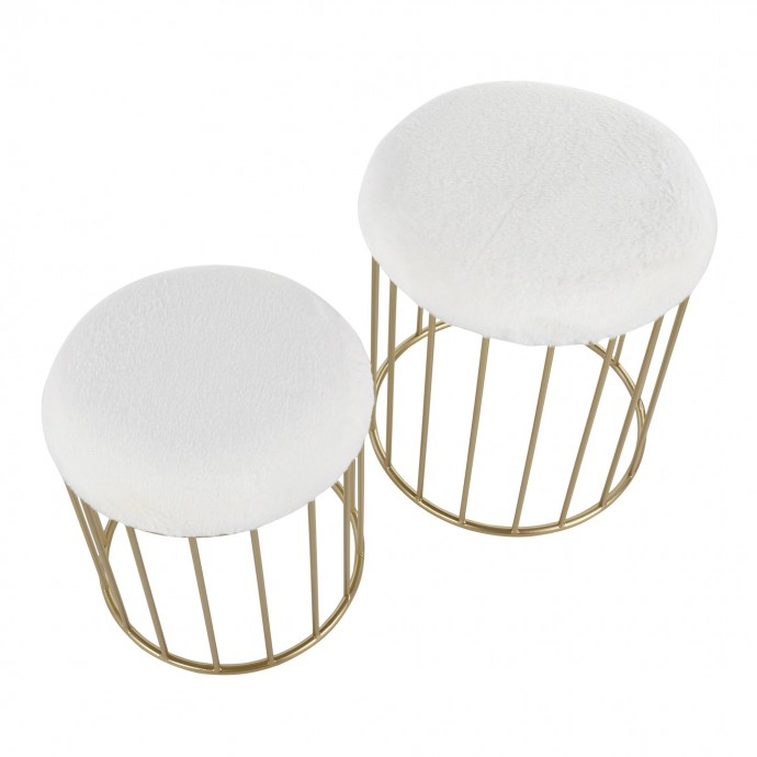 Industrial Counter Stool in Black and Grey Duke