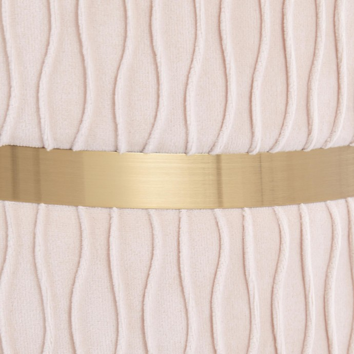 Mid-Century Modern Counter Stool in Walnut and Grey Elisa
