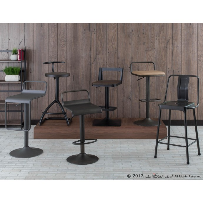 Modern Fabric Lounge Chair Jonkoping