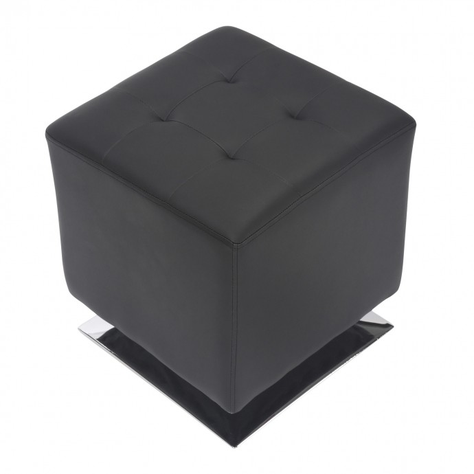 2 Contemporary Counter Stools in Gold and Black