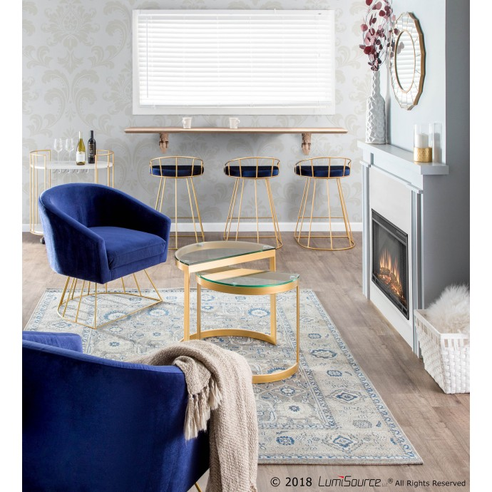 Modern Red Fabric Swivel Lounge Chair Pori inspired by Swan Chair
