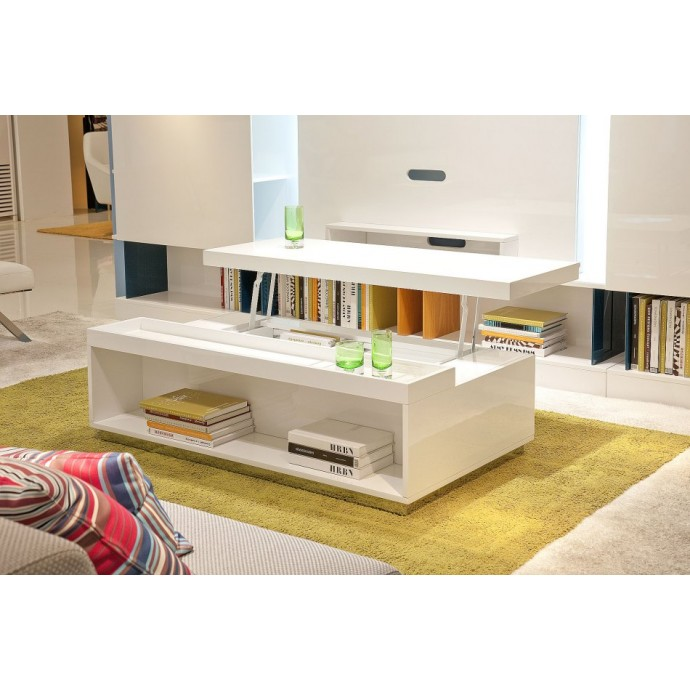 Set of 2 Contemporary Counter Stools in Walnut and Grey Mara LumiSource - 5