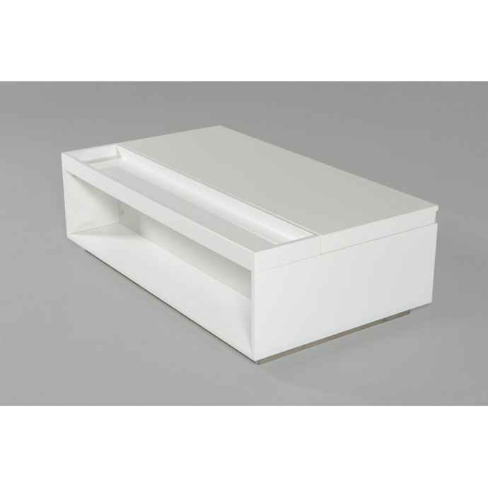 Set of 2 Contemporary Counter Stools in Walnut and Grey Mara LumiSource - 6