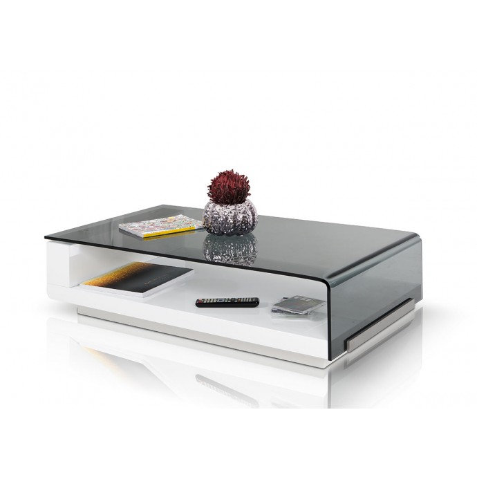Height Adjustable Contemporary Barstool in White Master LumiSource - 3