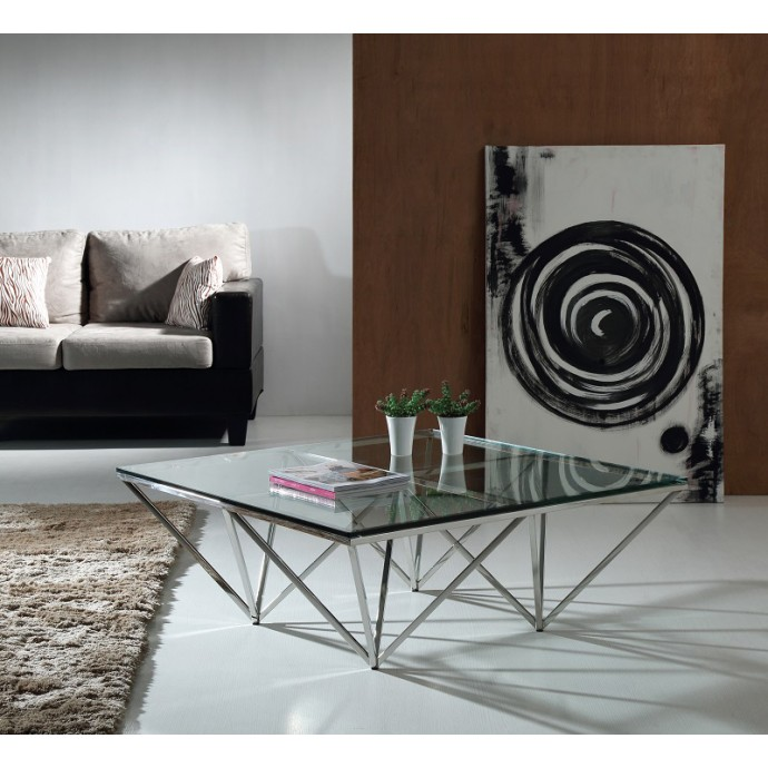 Height Adjustable Contemporary Bar stool in Silver Mirage