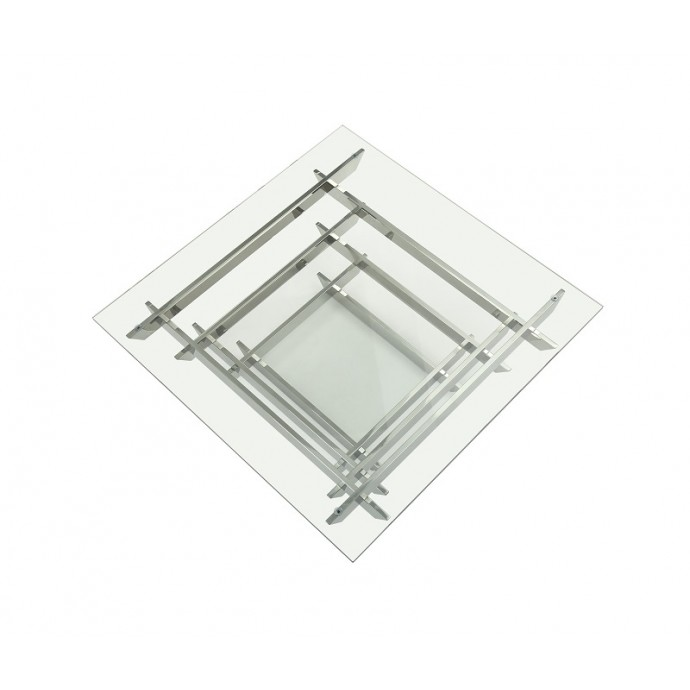 Set of 2 Stackable Industrial Bar stools Oregon LumiSource - 2