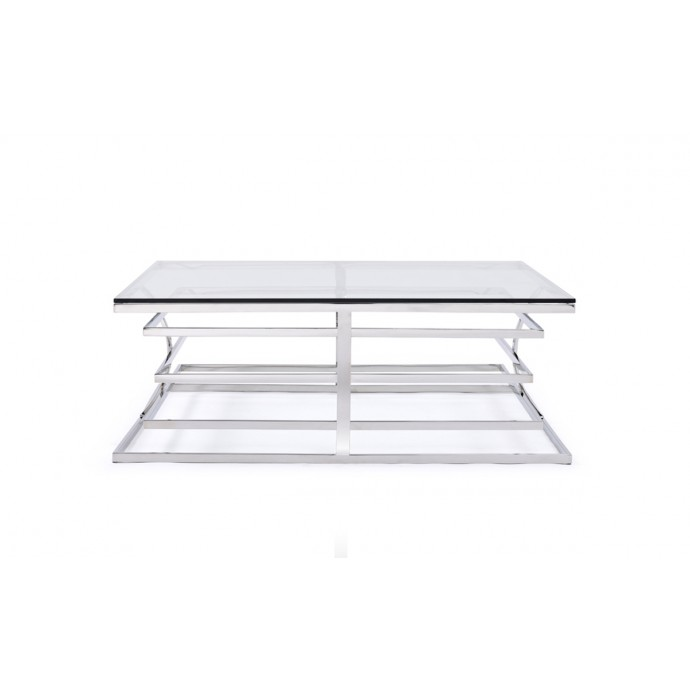 Set of 2 Industrial Stackable Bar stools with Vintage White Frame and Espresso Wood Oregon LumiSource - 1