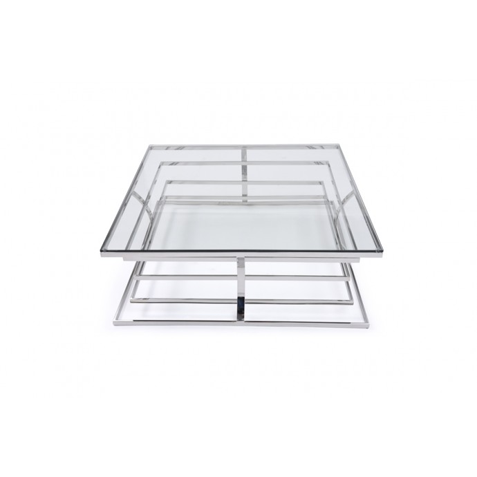 Set of 2 Industrial Stackable Bar stools with Vintage White Frame and Espresso Wood Oregon LumiSource - 3