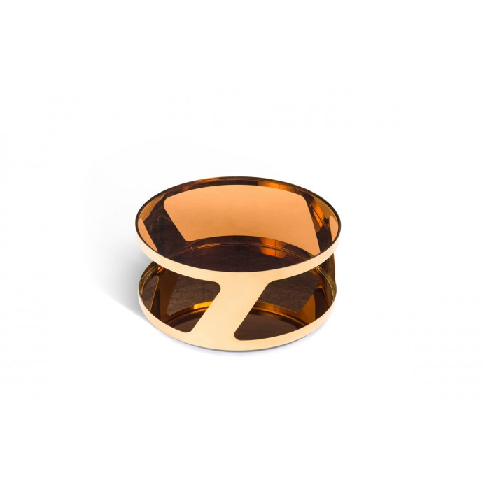 Set of 2 Industrial Stackable Counter Stools with White Frame and Espresso Wood Oregon LumiSource - 3