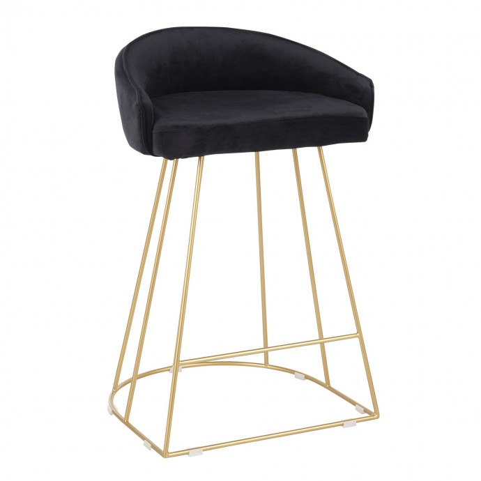 Modern Bent Glass Coffee Table with Walnut Drawers Shaman
