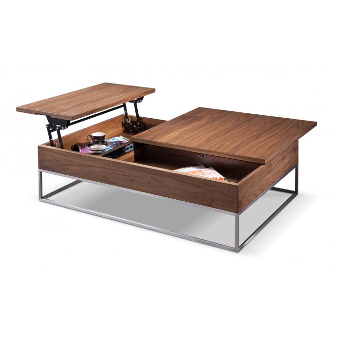 Set of 2 Industrial Low Back Bar Stools with Antique Frame and Espresso Wood Oregon LumiSource - 4