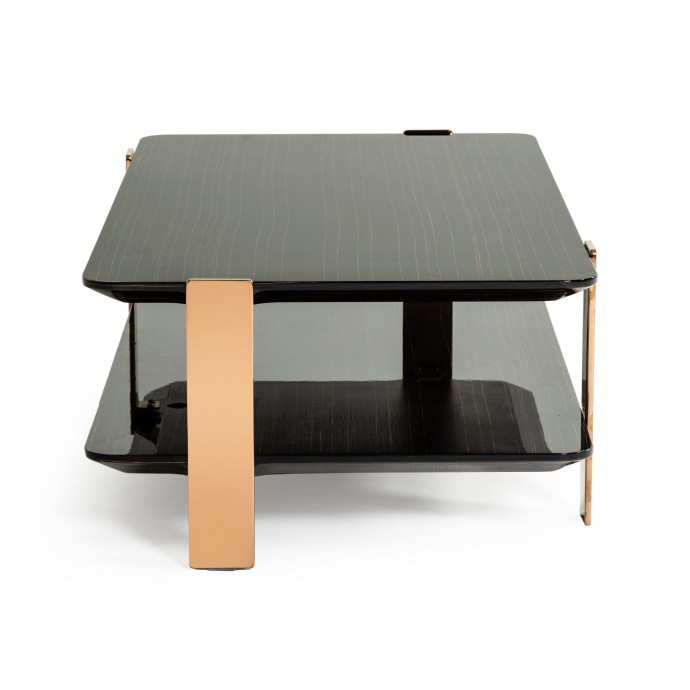 Set of 2 Industrial Counter Stools in Brown PU Outlaw