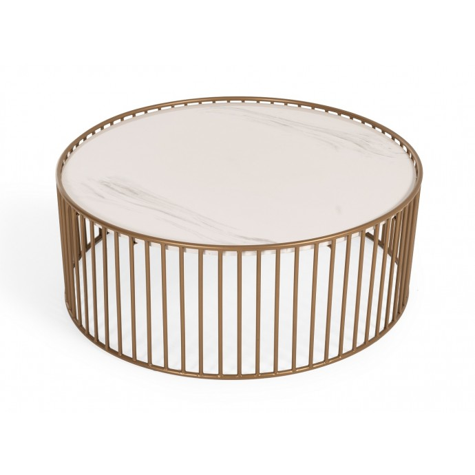 Mid-Century Modern Adjustable Bar stool in Walnut and Cream Pino LumiSource - 3