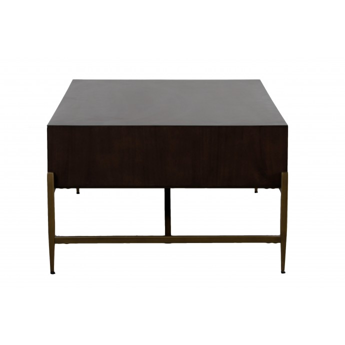 Height Adjustable Mid-century Modern Bar stool in Walnut and White Ravinia LumiSource - 5