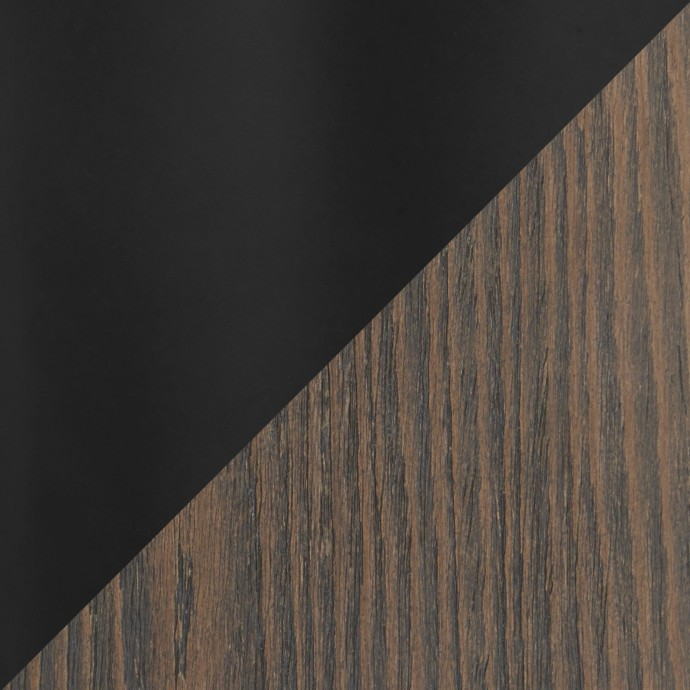 Adjustable Mid-century Modern Bar Stool in Cherry and Brown Santi LumiSource - 6