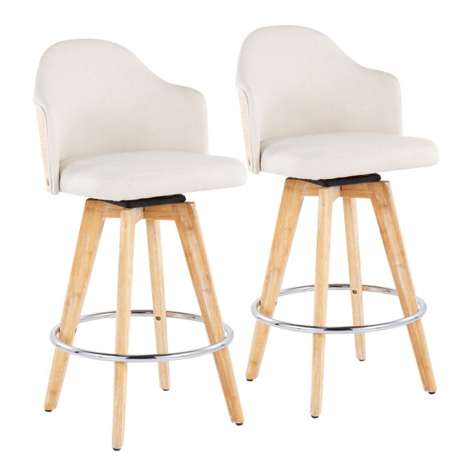 Grey Fabric Chaise Metro