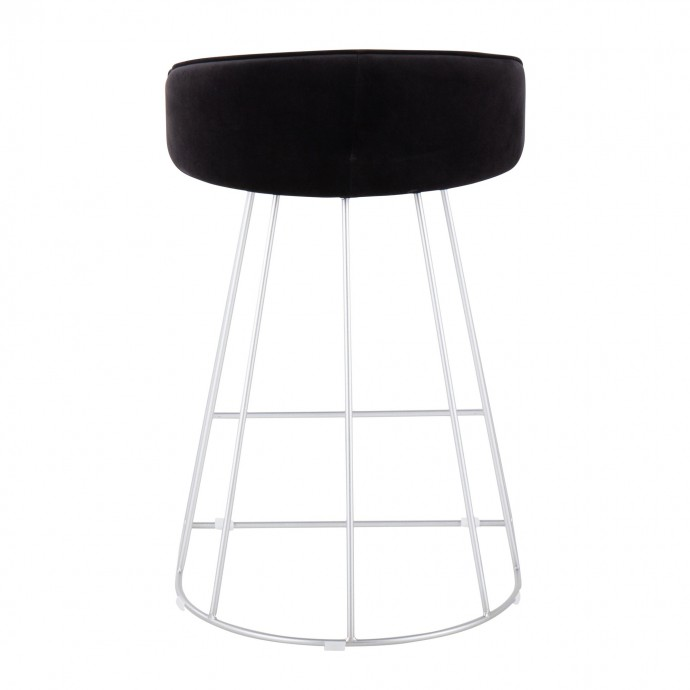Modern swivel black coffee table Lazio