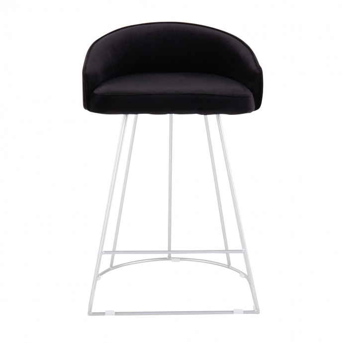 Modern Wenge veneered coffee table with black glass top Pretoro