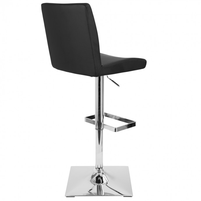 modern chrome and glass round coffee table stark. Black Bedroom Furniture Sets. Home Design Ideas