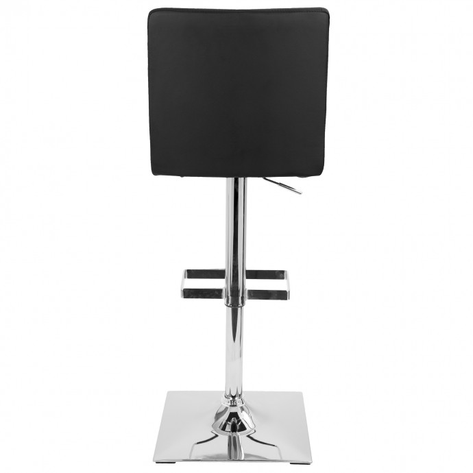 Modern chrome and glass round coffee table Stark