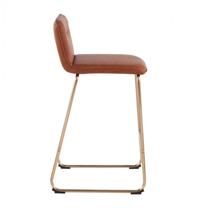 Modern bent glass coffee table Fred