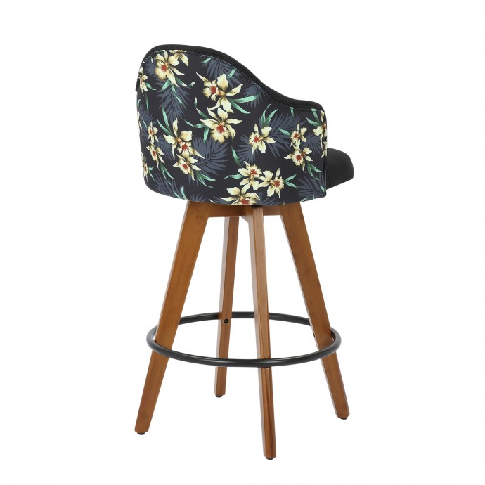 Contemporary transforming round coffee table with storage Mooka