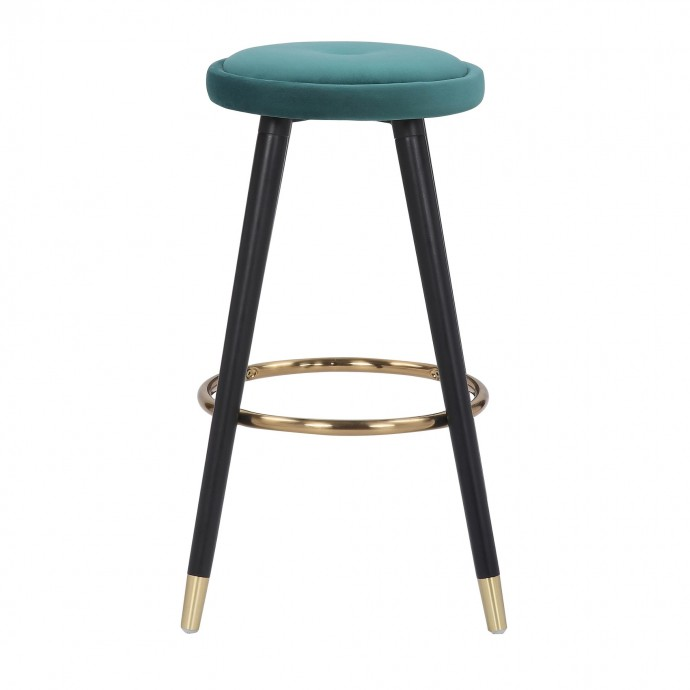 Modern light blue Fabric swivel Lounge Chair inspired by The Swan design