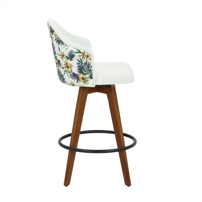 Contemporary oval high glossy grey coffee table Kami