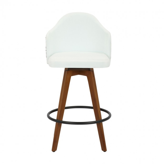 Modern dual tone modular end table Hino